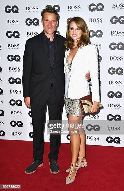 James Cracknell and Beverley Turner arrive for GQ Men Of The Year Awards 2016 at Tate Modern on September 6, 2016 in London, England.