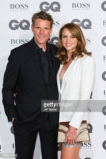 James Cracknell and Beverley Turner arrive for GQ Men Of The Year Awards 2016 at Tate Modern on September 6 2016 in London England