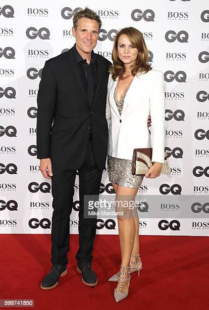 James Cracknell and Beverley Turner arrives for GQ Men Of The Year Awards 2016 at Tate Modern on September 6 2016 in London England