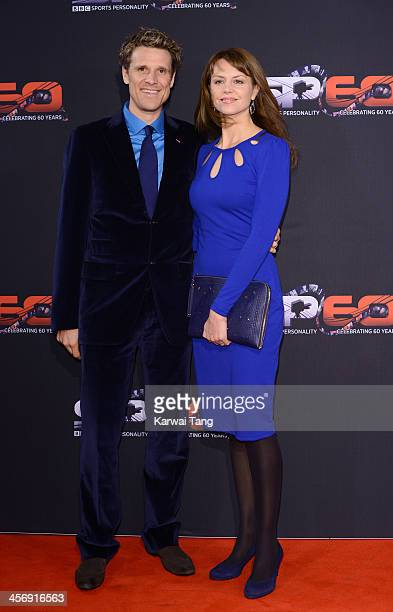 James Cracknell and Beverley Turner attend the BBC Sports Personality of the Year awards at the First Direct Arena on December 15 2013 in Leeds...