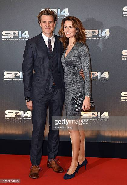 James Cracknell and Beverley Turner attend the BBC Sports Personality of the Year awards at The Hydro on December 14 2014 in Glasgow Scotland