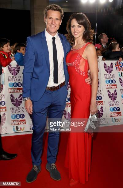 James Cracknell and Beverley Turner attend the Pride Of Britain Awards at Grosvenor House, on October 30, 2017 in London, England.