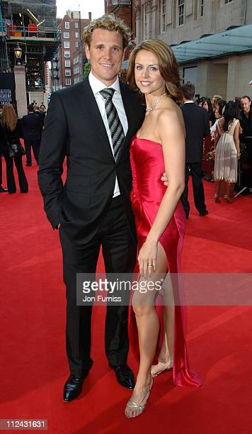 James Cracknell and Beverley Turner during The 2006 British Academy Television Awards - Arrivals at Grosvenor House in London, Great Britain.