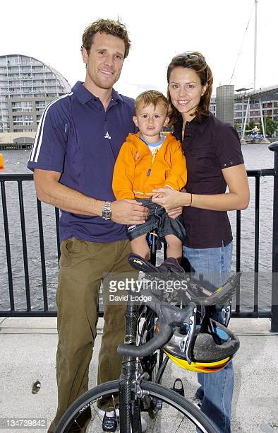 James Cracknell and Croyde Cracknell and Beverly Turner
