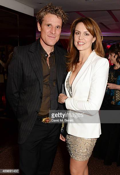 James Cracknell and wife Beverley Turner attend The Odd Ball 'hosted by The Murray Parish Trust at The Royal Garden Hotel on November 28 2014 in...