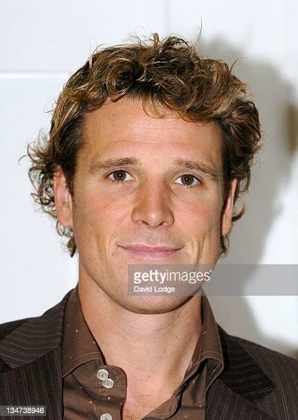 """James Cracknell during 2006 London Book Fair - James Cracknell Launches His Book """"No Gym Health Plan"""" at ExCel in London, United Kingdom."""