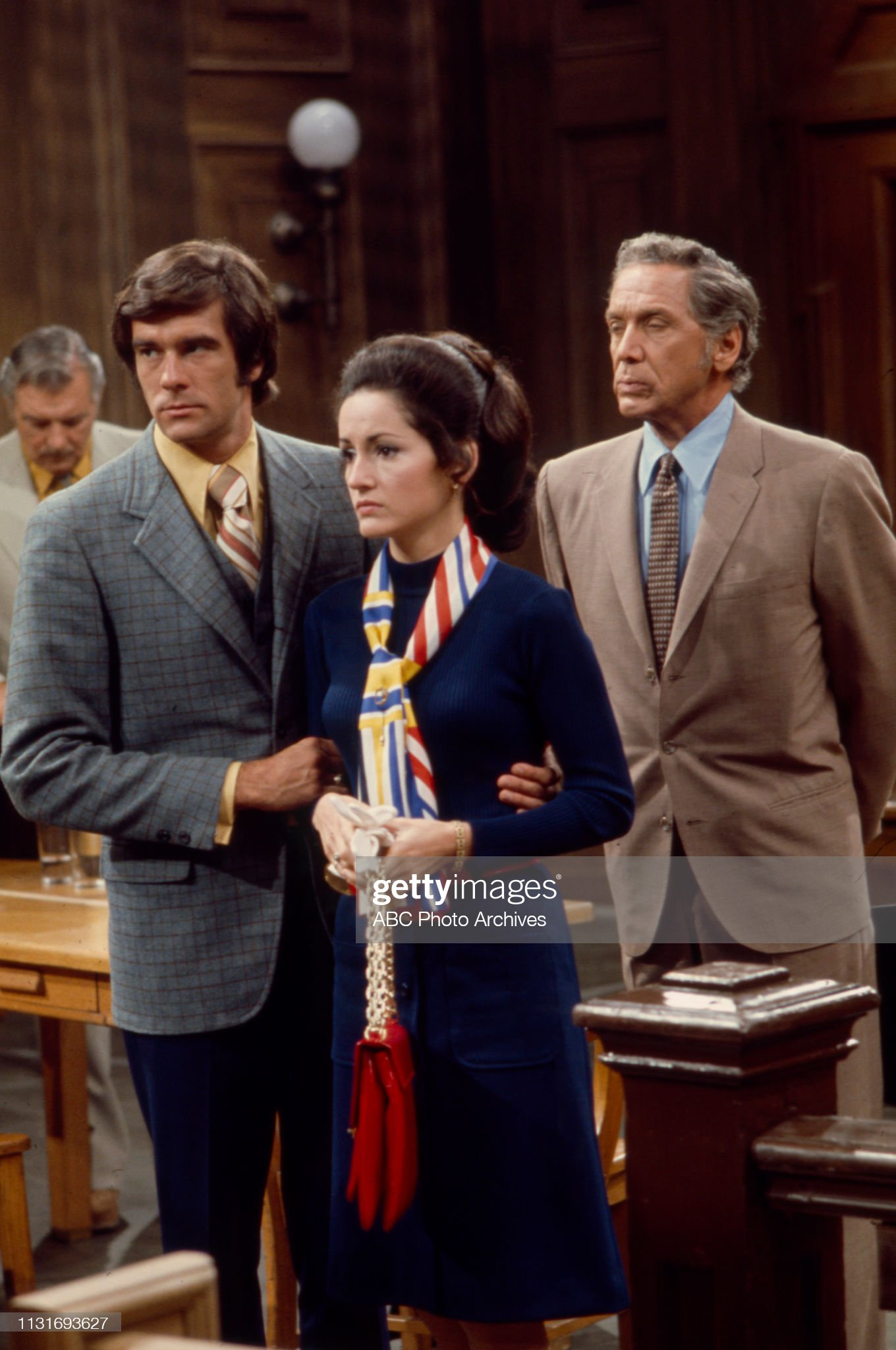 James Craig, Tom Hallick, Robin Strasser, John Conte Appearing In 'The ABC Afternoon Playbreak' : News Photo