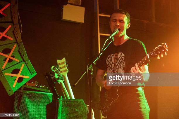 James Crawford of Heavy Rapids performs at The Garage on June 20 2018 in London England
