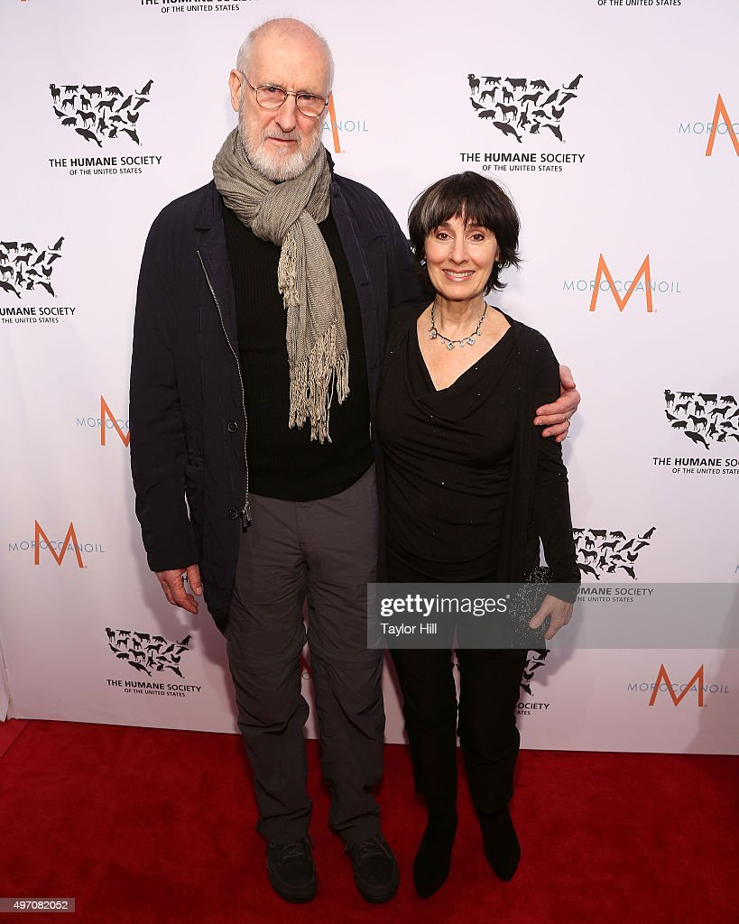 James Cromwell and Anna Stuart attend The Humane Society Gala at Cipriani 42nd Street on November 13, 2015 in New York City.