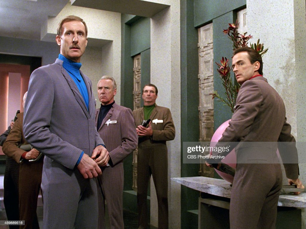 James Cromwell As Nayrok And J Michael Flynn Zaynar In The