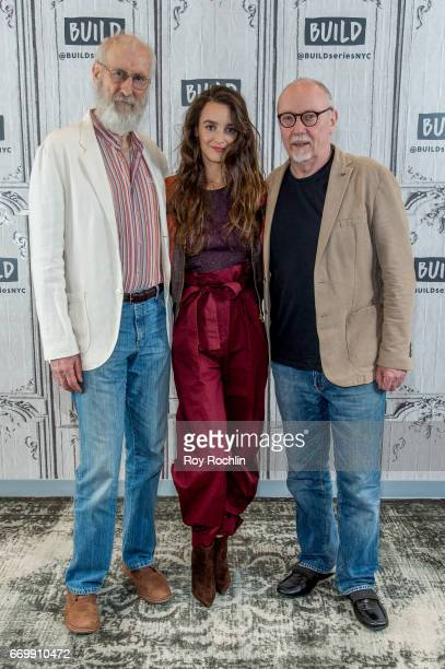James Cromwell Charlotte Le Bon and Terry George discuss 'The Promise' with the build series at Build Studio on April 18 2017 in New York City