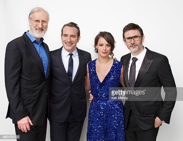 James Cromwell Jean Dujardin Berenice Bejo and director Michel Hazanavicius are photographed for Los Angeles Times on August 29 2011 in Los Angeles...