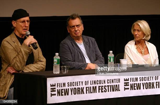James Cromwell, Stephen Frears, director and Helen Mirren