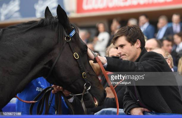 James Cummings after Kementari finished runner up in Race 7 Memsie Stakes during Memsie Stakes Day Melbourne Racing at Caulfield Racecourse on...