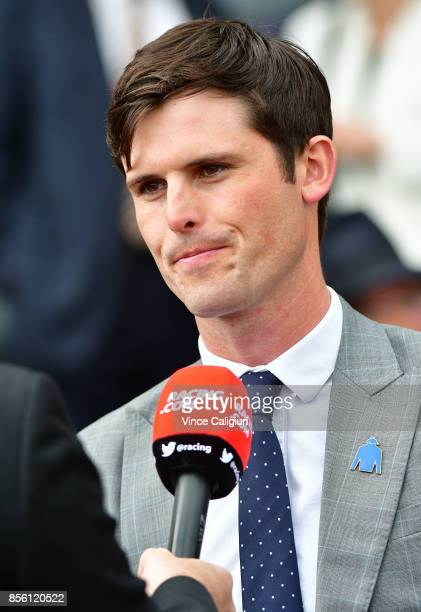 James Cummings is seen during Melbourne Racing at Caulfield Racecourse on October 1 2017 in Melbourne Australia