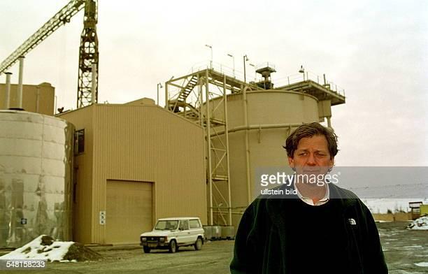 James D Tylor Manager der Goldmine der australischen Betreiberfirma Esmeralda Explorations in Baia Mare auf dem Firmengelände Nach einem Dammbruch am...