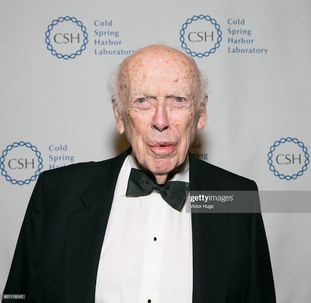 James D. Watson attends old Spring Harbor Laboratory's Double Helix Medals at American Museum of Natural History on December 1, 2016 in New York City.