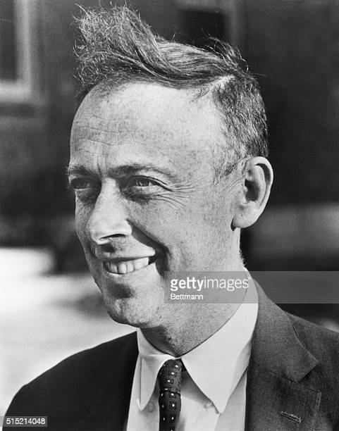 James D Watson author of the book 'The Double Helix' Undated photo