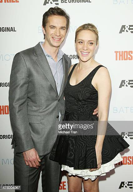 """James D'Arcy and Chloe Sevigny arrive at the premiere party for A&E's season 2 of """"Bates Motel"""" and series premiere of """"Those Who Kill"""" held at..."""