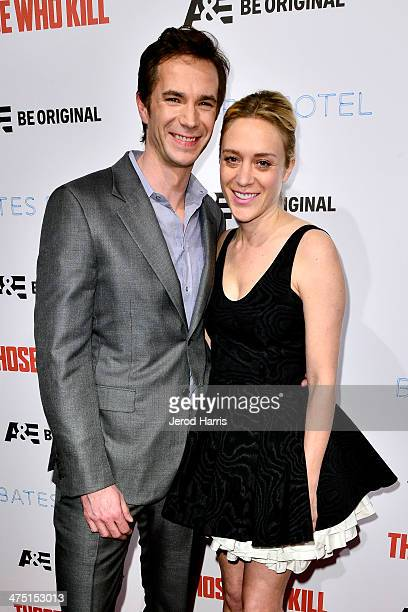James D'Arcy and Chloe Sevigny attend the premiere party for A&E's Season 2 Of 'Bates Motel' & series premiere of 'Those Who Kill' at Warwick on...