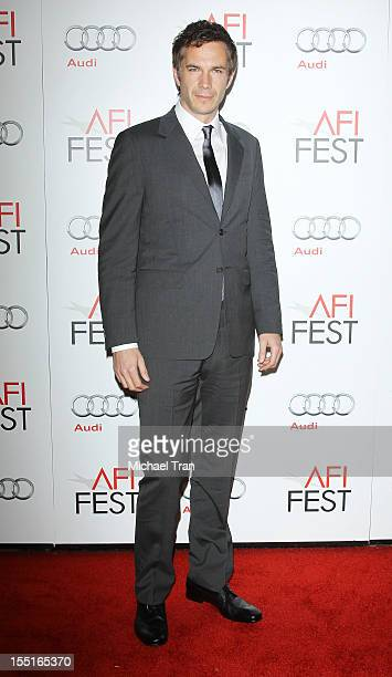 """James D'Arcy arrives at the 2012 AFI FEST - Opening Night Gala Premiere of """"Hitchcock"""" held at Grauman's Chinese Theatre on November 1, 2012 in..."""