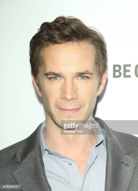 """James D'Arcy arrives at the premiere party for A&E's season 2 of """"Bates Motel"""" and series premiere of """"Those Who Kill"""" held at Warwick on February..."""