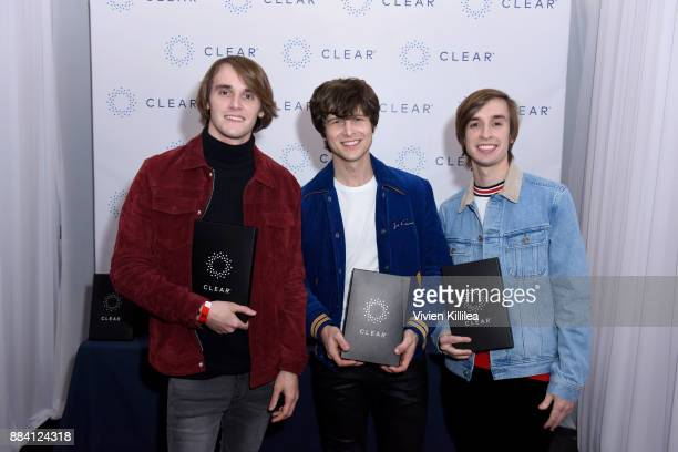 James David Maney Jesse Leonard and Eric Carnevale of Acting Natural attend the 1027 KIIS FM Artist Gift Lounge at 1027 KIIS FM's Jingle Ball 2017...