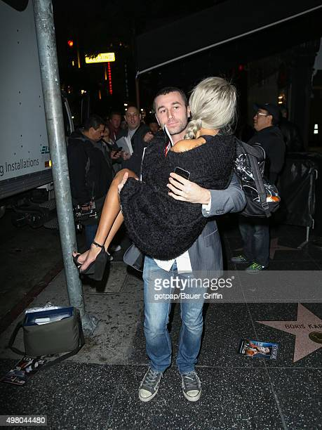 James Dean and Janice Griffith are seen on November 19 2015 in Los Angeles California