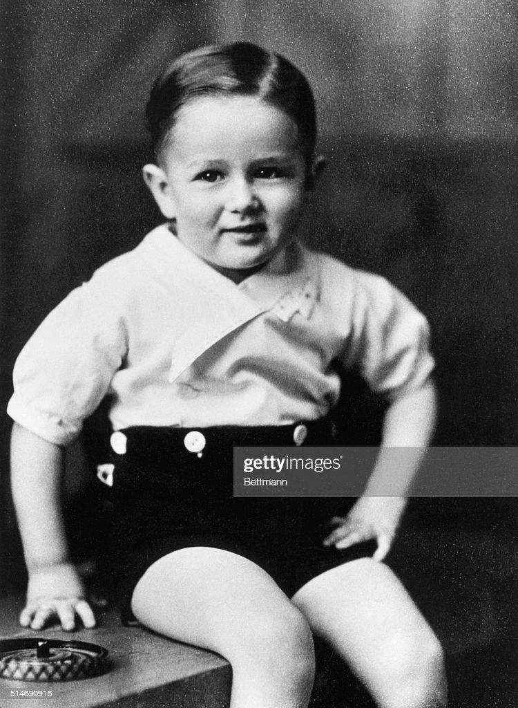 James Dean As A Toddler : News Photo