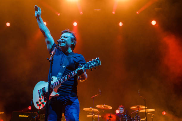 GBR: Manic Street Preachers Perform At Motorpoint Arena Cardiff