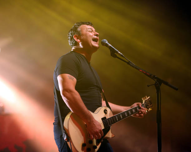 GBR: Manic Street Preachers Perform At Portsmouth Guildhall