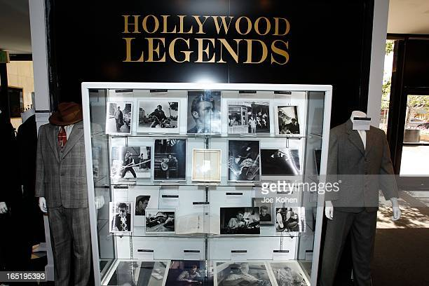 James Dean items seen on display at Julien's Auctions Gallery on April 1 2013 in Beverly Hills California