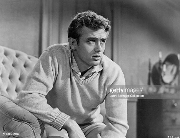 James Dean plays Cal Trask in the motion picture East of Eden