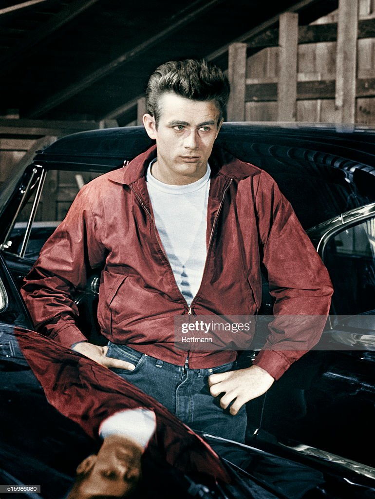 James Dean in Rebel Without a Cause : News Photo