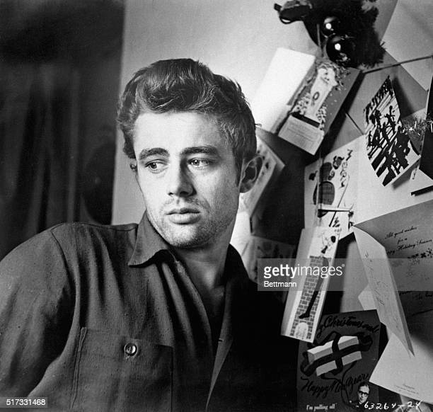 James Dean, publicity still from Warner Bros. Pictures. Undated.
