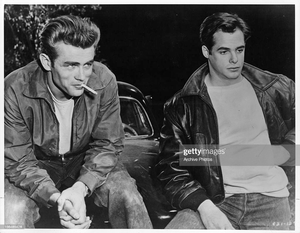 James Dean In 'Rebel Without A Cause' : News Photo