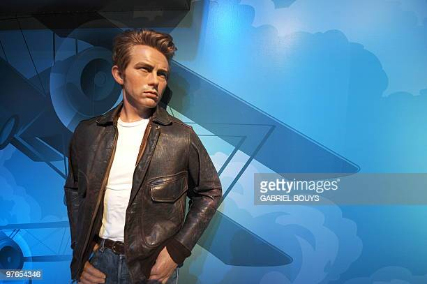 A James Dean wax figure is seen at Madame Tussauds in Hollywood California on August 27 2009 Marie Tussaud born Anna Maria Grosholtz was born in...
