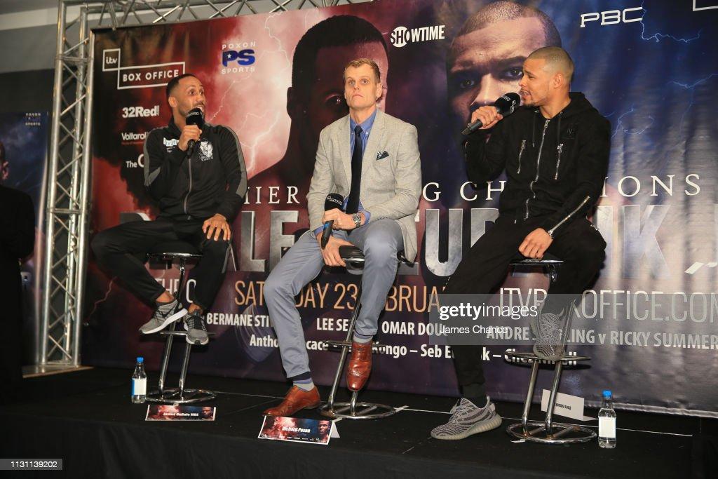 GBR: James DeGale v Chris Eubank Jr. - Press Conference