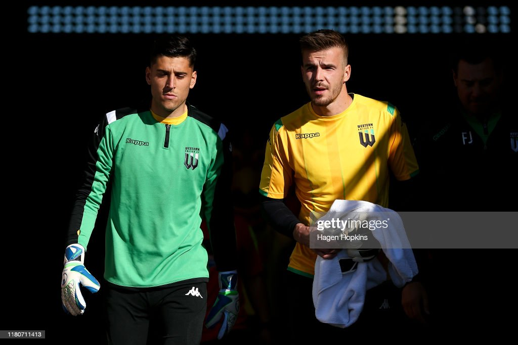 A-League Rd 1 - Wellington v Western United : News Photo