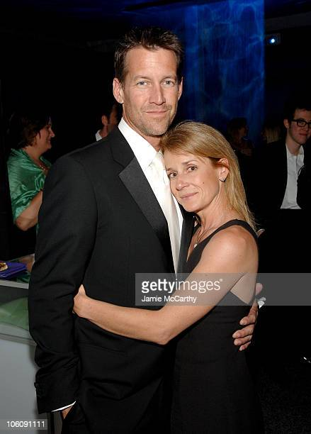 James Denton and Erin O Brien during 2006 White House Correspondents Dinner - Bloomberg News After Party at Embassy of the Republic of Macedonia in...