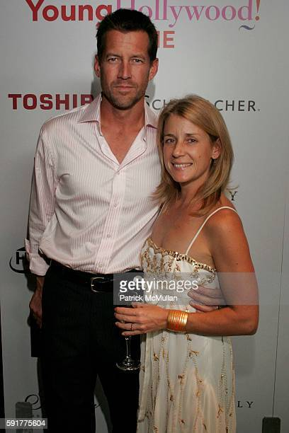 James Denton and Erin O'Brien attend Movieline Hollywood Life's 2nd Annual Hollywood Style Awards at Pacific Design Center on October 2 2005 in West...