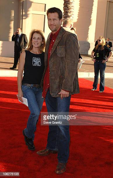 James Denton and Erin O'Brien during 33rd Annual American Music Awards - Arrivals at Shrine Auditorium in Los Angeles, California, United States.