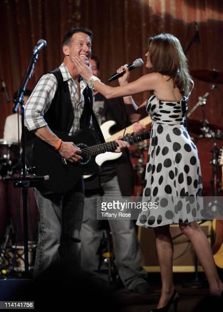 James Denton and Teri Hatcher perform at the 11th Annual Lupus Los Angeles Orange Bowl at the Beverly Wilshire Four Seasons Hotel on May 12 2011 in...