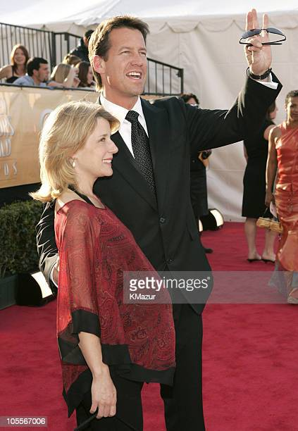 James Denton and wife 8505_KM2_1jpg during TNT Broadcasts 11th Annual Screen Actors Guild Awards Red Carpet at Shrine Auditorium in Los Angeles...