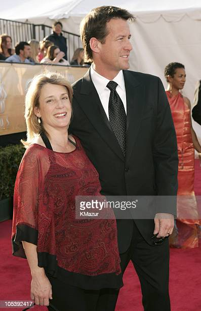 James Denton and wife 8505_KM2_3jpg during TNT Broadcasts 11th Annual Screen Actors Guild Awards Red Carpet at Shrine Auditorium in Los Angeles...