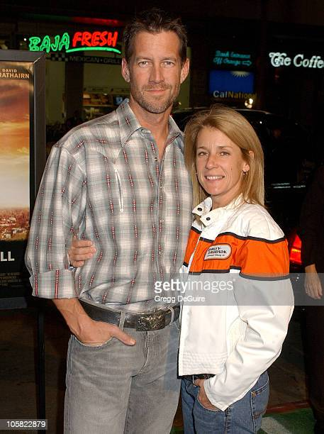 James Denton and wife during We Are Marshall Los Angeles Premiere Arrivals at Grauman's Chinese Theatre in Hollywood California United States