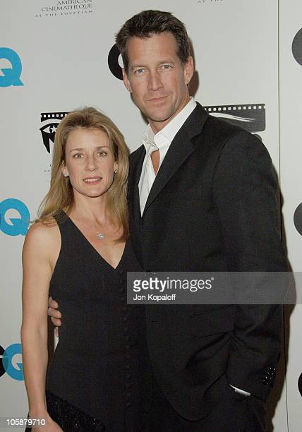 James Denton and wife Erin O' Brien during GQ 2006 Nominees for Golden Globes Party to Benefit the American Cinematheque at Regent Beverly Wilshire...