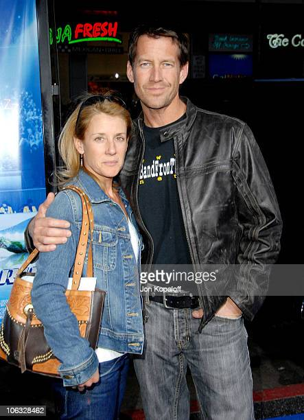 """James Denton and wife Erin O'Brien Denton during """"Blades Of Glory"""" Los Angeles Premiere - Arrivals at Grauman's Chinese Theatre in Hollywood,..."""