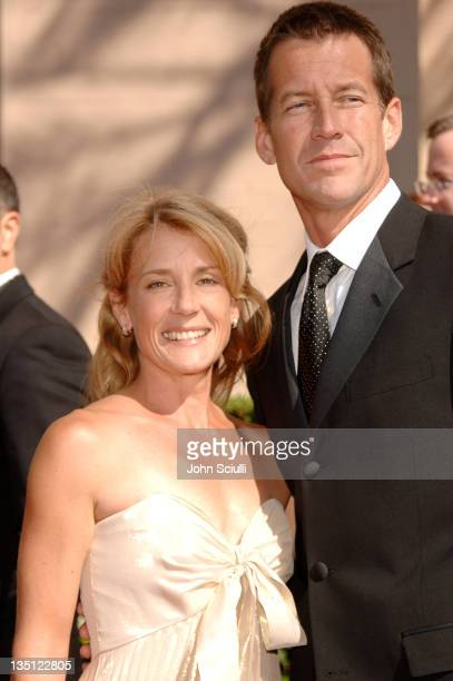 James Denton and wife Erin O'Brien during 58th Annual Creative Arts Emmy Awards Arrivals at Shrine Auditorium in Los Angeles California United States