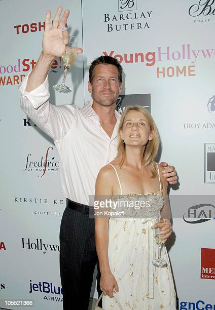 James Denton and wife Erin O'Brien during Movieline Hollywood Life's Hollywood Style Awards- Arrivals at Pacific Design Center in West Hollywood,...